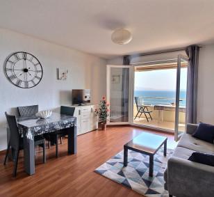 Exclusivité vente appartement F3 avec terrasse et vue mer - Sanguinaires photo #3146