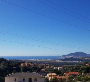 Terrain vue mer avec permis de construire - Bastelicaccia photo #2094