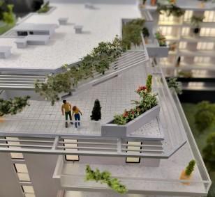 Toit terrasse - Quartier Aspretto à Ajaccio photo #1268