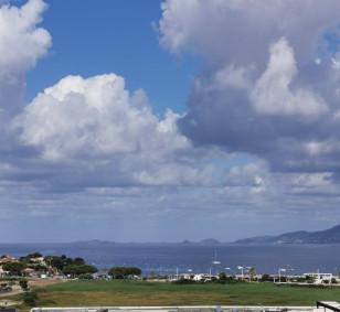 T3 dernier étage vue mer Porticcio photo #4294