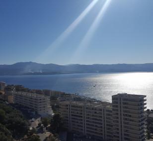 Vente appartement F4 terrasse et vue mer panoramique - Sanguinaires photo #1881