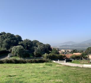 Bastelicaccia - Vente terrain vue mer avec permis de construire photo #4044