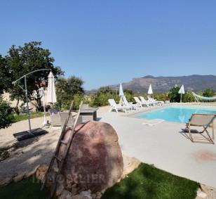 Maison moderne plain pied type F4 avec piscine - Cuttoli Corticchiato photo #2215